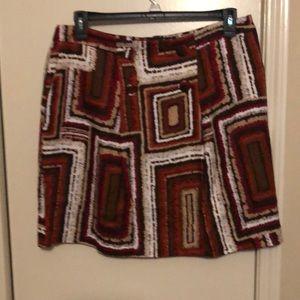 Worthington fall colored skirt